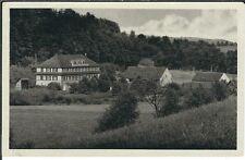 Ansichtskarte Waldhaus Amtsschreibersmühle Hotel/Pension - Mühltal Eisenberg s/w
