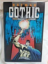 Batman Gothic 1991 Titan Books Grant Morrison and Klaus Janson 1st Edition