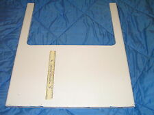 MAYTAG chargement frontal COMMERCIAL lave-glace avant métal panneau extérieur Boîtier Boîtier