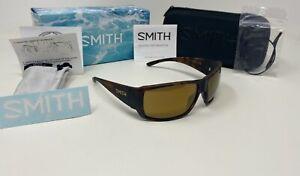 Smith® GUIDE'S CHOICE Men's Havana Sunglasses, POLAR ChromaPop+™ Bronze Mirror