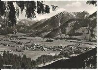 Ansichtskarte Hindelang - Panoramablick auf Hindelang/Bad Oberdorf -schwarz/weiß