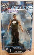 WWE Draft The Rock #1 Limited Edition out of 26250 Jakks Pacific 2002 071720DBT3