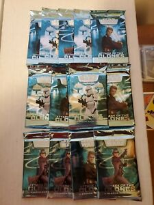 Lot of 14 Star Wars TCG - WOTC - Attack of the Clones Booster packs sealed