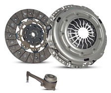 Clutch With Slave Kit for 08-14 Volkswagen Gti Eos Jetta Audi A3 2.0L L4 Turbo