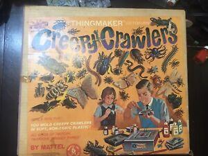 Vintage 1964 Mattel Creepy Crawlers Thingmaker Working w/ Original Box