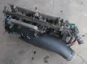 NISSAN SKYLINE R33 GTR GT-R RB26DETT throttle body + intake plenum sec/h #7