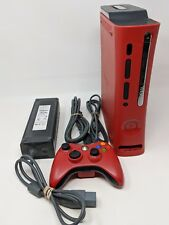 Microsoft Xbox 360 Elite Resident Evil 5 Limited Edition 120GB Red Console Works