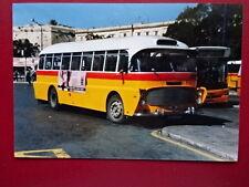 PHOTO  MALTA BUS REG DBY 372 AT VALLETTA