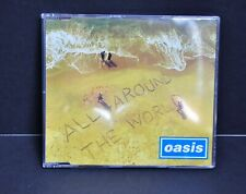 Oasis All Around The World Promo CD CRESCD 282 Creation