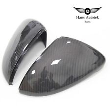 REAL Carbon Fiber Mirror Caps FOR Volkswagen VW Golf MK7 Mk7.5  TSI TDI GTI R