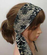 Self tie women headband tie back head scarf handmade head wrap Boho head wear