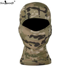 Tactical Outdoor Camo Quick-Drying Full Face Mask Balaclava Hood Hat Airsoft MC