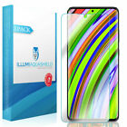 """3X Illumi AquaShield Case Friendly Screen Protector Galaxy S20 Plus 6.7""""TPU Film"""