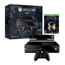 Microsoft Xbox One Halo Black Kinect Console 500GB