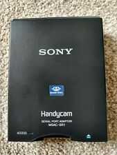 Sony MSAC-SR1 Handycam Memory Stick Serial Port Adapter, Cables & Power Supply