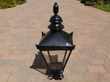 Black Victorian Lamp post Top lantern  Traditional garden street light 90 cm