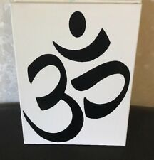 "Vinyl Art On Canvas (Symbol) Size 12x16"" [One Of A Kind!] 1of1"