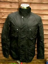 Barbour Motorcycle Jackets Waxed Cotton Outer Shell for Men