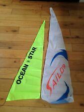 Radio Controlled Yacht voiles Set océanique Course Modèle 2.2 M bateau shunbo RC