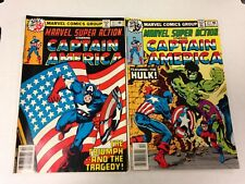 Marvel Super Action #11 #12 Jim Steranko cover 1978 1979