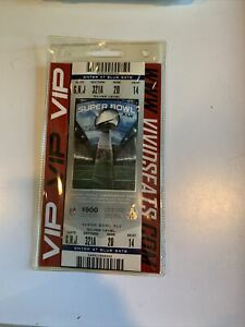 2011 Super Bowl XLV Full Ticket Blue Packers Steelers Aaron Rodgers Big Ben Pitt