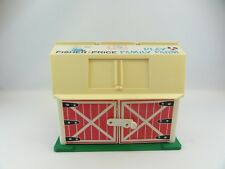 Fisher Price #915 Play Family Farm Vintage 1982-85 Barn Little People Green Base