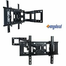 CORNER PLASMA LCD LED 3D TV WALL BRACKET MOUNT TILT SWIVEL 32 40 42 46 50 55 65""