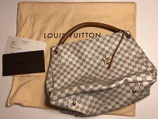 Louis Vuitton Artsy MM Damier Azur Handtasche Shoppen, N41174, Wie Neu