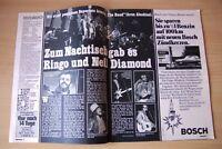 Bravo - 1976 - Beatles - Zum Abschied gab es Ringo und... - 2 seitiger Bericht