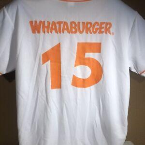 "Corpus Christi Hooks Whataburger Jersey Astros MLB Orange 52""-chest 31""-Length"