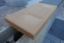 Mauerabdeckung Abdeckplatte 60 x 30 x 5 cm Mauerabdeckstein beige