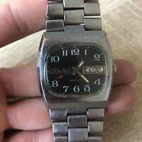 Watch Slava 26 Jewels Vintage Wristwatch Rare Russia USSR Soviet SU SSSR