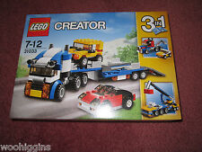 LEGO CREATOR 3 IN 1 VEHICLE TRANSPORTER 31033 - NEW/BOXED/SEALED