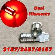Front Turn Signal Parking RED SMD LED Bulb T25 3057 3157 4157 SRCK W1 LGM A