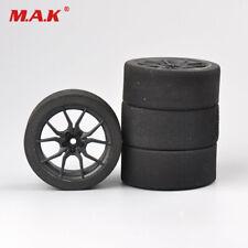 4PCS 12mm Hex Foam Tyre Wheel Set 23002 Fit 1/10th Scale  On-road RC Car