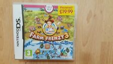 NINTENDO DS GAME FARM FRENZY 3 ALL COMPLETE