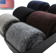 Mongolia 100% Wool Cashmere Thick Socks Mens Warm & Comfortable & Pure Socks