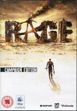 Rage, campagne edition mac os 10.7.2 Intel. jeu de tir nouveau & scellé