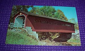 COVERED BRIDGE Dexter Press Photot Postcard by Carl Scholfield DT-96972-B