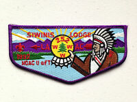 SIWINIS OA LODGE 252 FLAP 2015 LAAC PATCH LOS ANGELES AREA NOAC 1992 DELEGATE