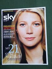 SKY TV GUIDE MAGAZINE -GWYNETH PALTROW - HEATHER GRAHAM -  AUG 2003