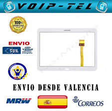 PANTALLA TACTIL CRISTAL TOUCH SAMSUNG GALAXY TAB4 10.1 T530 T531 T535 BLANCO