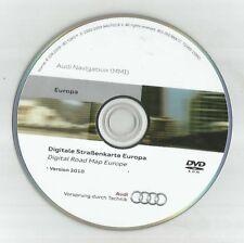 ORIGINALE Audi A6 A4 A5 A8 Q7 MMI High Disco di navigazione 2G DVD NAVIGATORE SATELLITARE MAPPA 2010