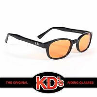KD's Black Frame Orange Lenses Sunglasses Harley Davidson ASO Sons of Anarchy