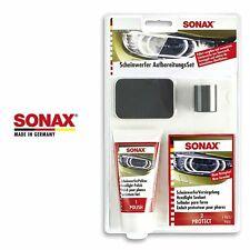 SONAX Scheinwerfer Aufbereitung Set Lampen Politur KFZ Reparatur