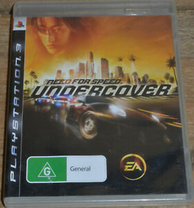Need For Speed: Undercover (PS3, 2008) - PAL - Complete in Case
