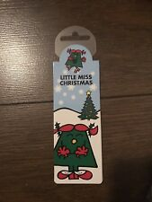 Little Miss Christmas Magnetic Bookmark Brand New Stocking Filler