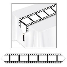 HOLLYWOOD Film Strip Pictures TABLE RUNNER Birthday Party Decoration Filmstrip