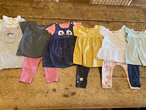 GIRL 9-12 MONTHS CLOTHES BUNDLE (2)