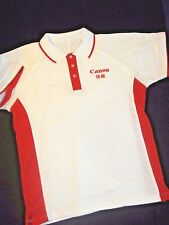 GENUINE CANON EOS DELIGHTING YOU ALWAYS POLO SHIRT WHITE